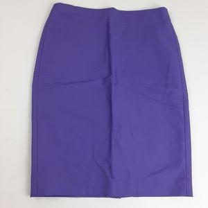 JCREW No. 2 Pencil Skirt Purple Size 0